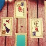 support de voyance : cartes divinatoires et ésothérique de l'Oracle Belline