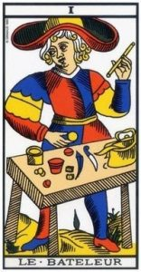 Cartomancie - Signification cartes Tarot de Marseille - carte le Bateleur