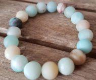 bracelet mala perles amazonite